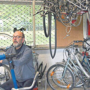 Radwerkstatt ist Mekka für Selbstschrauber (Rhein-Zeitung)