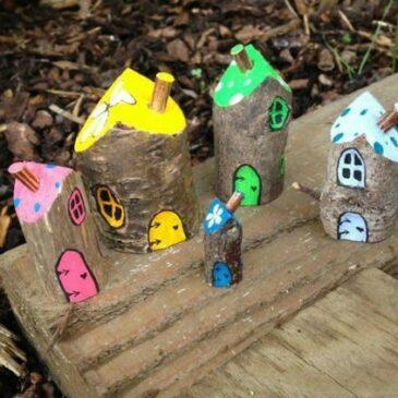 Herbstferien: Eine Spielstadt für unseren Sand- und Matsch-Spielplatz